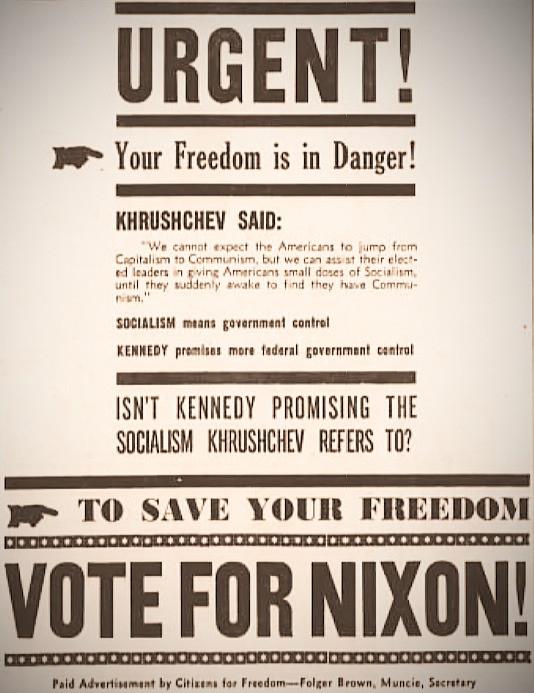 Actual Nixon Campaign Ad