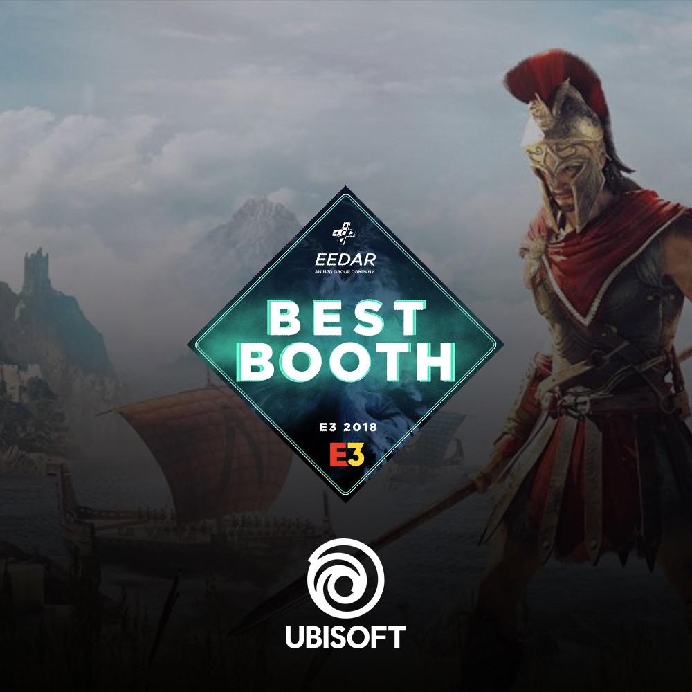 Best Booth - Ubisoft