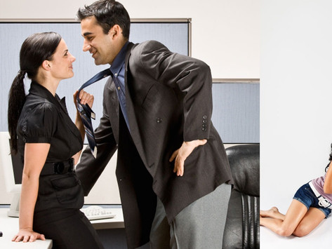 What do you do if you're a man and she insists on pursuing you?