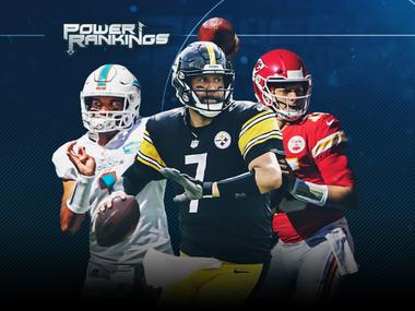 NFL Week 9 Power Rankings