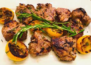 Gluten Free Grilled Lamb Chops (Greek Style)