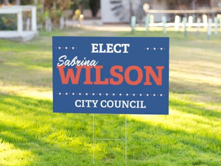 Yard Signs & Street Parking