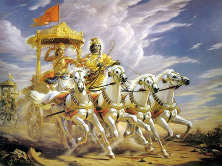 The ultimate instruction of the Bhagavad-gita