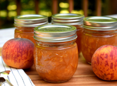 Honey Peach Preserves