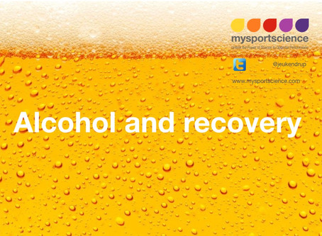 Alcohol and recovery
