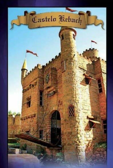 O Castelo Kebach está localizado na Estrada Selma Wallauer,1555,  Bairro Faxinal, distante aproximadamente 1,5 Km do centro de Montenegro.