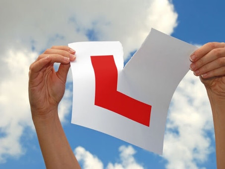 Congratulations Sarah on passing your driving Test First time with only a couple of minor faults.