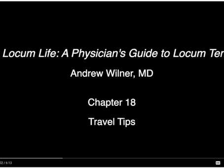 Travel Tips for Locums Docs (and Everyone Else)