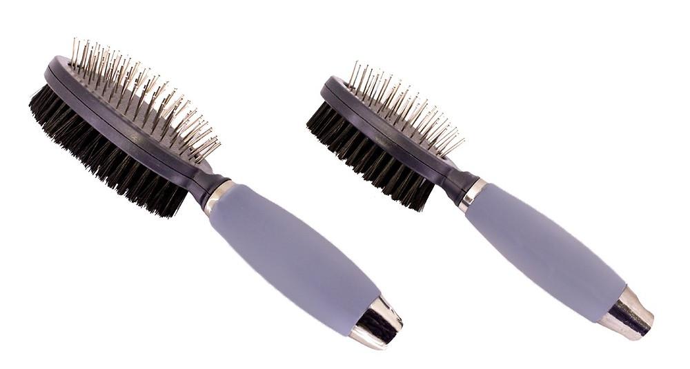 Escova de Dupla Gel- Como escolher a escova ideal para pentear os pelos do seu gato?- Braspets