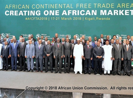 Africa Becomes The World's Largest Trading Bloc As Free Trade Market kicks In
