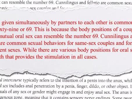 This Isn't Teaching Sex????