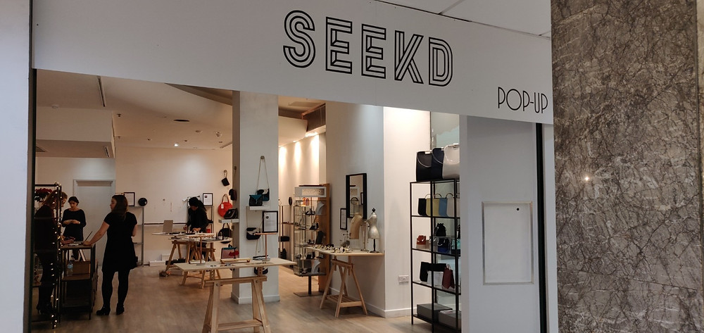 Seekd pop-up shop