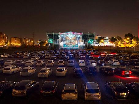 ¿Auto-Concert o DRIVE IN CONCERT el futuro próximo de los conciertos y bailes en México?