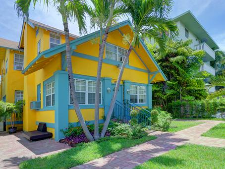 I colori tropicali della Florida