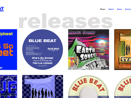 THE BLUE BEAT LABEL NEW WEBSITE.