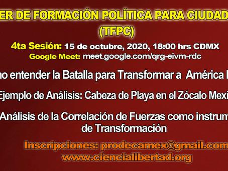 Orden de Batalla para Transformar América Latina