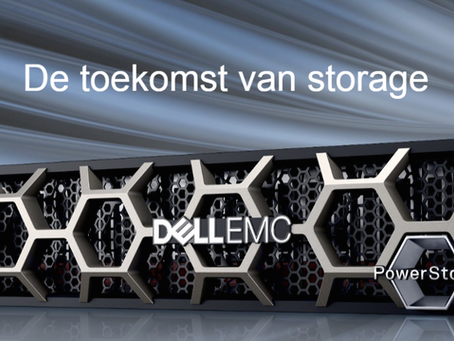 Weg met complexe IT. Dell EMC PowerStore maakt digitale transformatie eenvoudig.