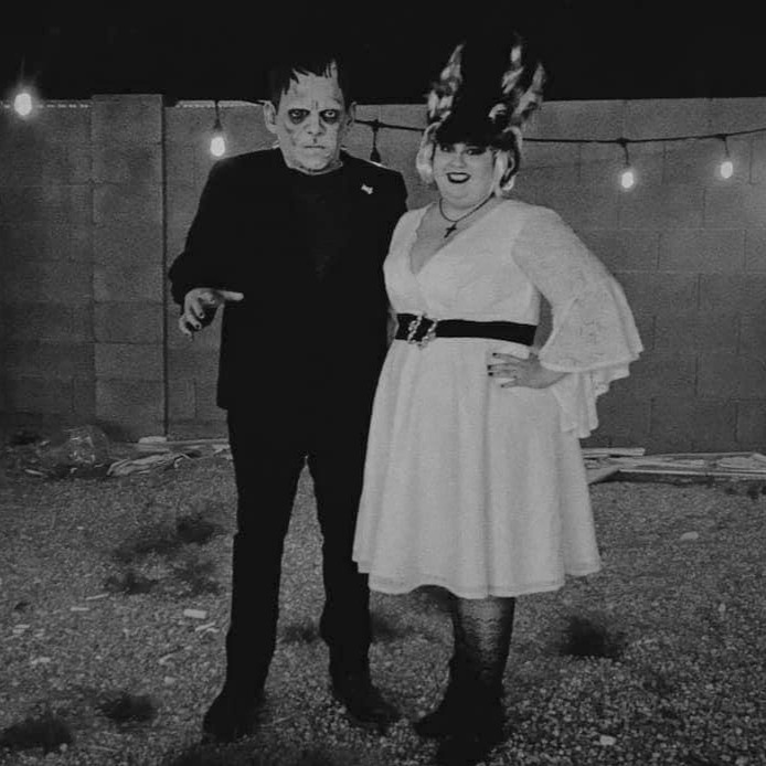 Frankenstein and Bride of Frankenstein Couples Costume