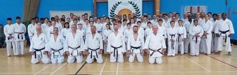 Another great JKS Brown & Black Belt Course with Sensei Alan Campbell 7th Dan - Sun 14th April 2019