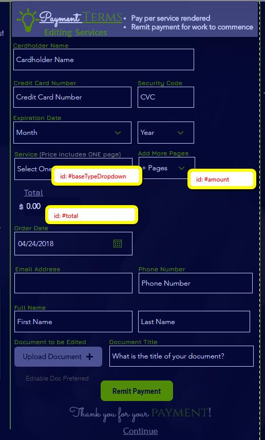 Calculating Values on Stripe - PLEASE HELP   Corvid Forum   Corvid