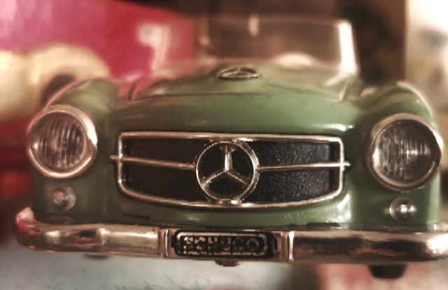 Schuco, Blechspielzeug, Cabriolet, Mercedes, Tintoys,