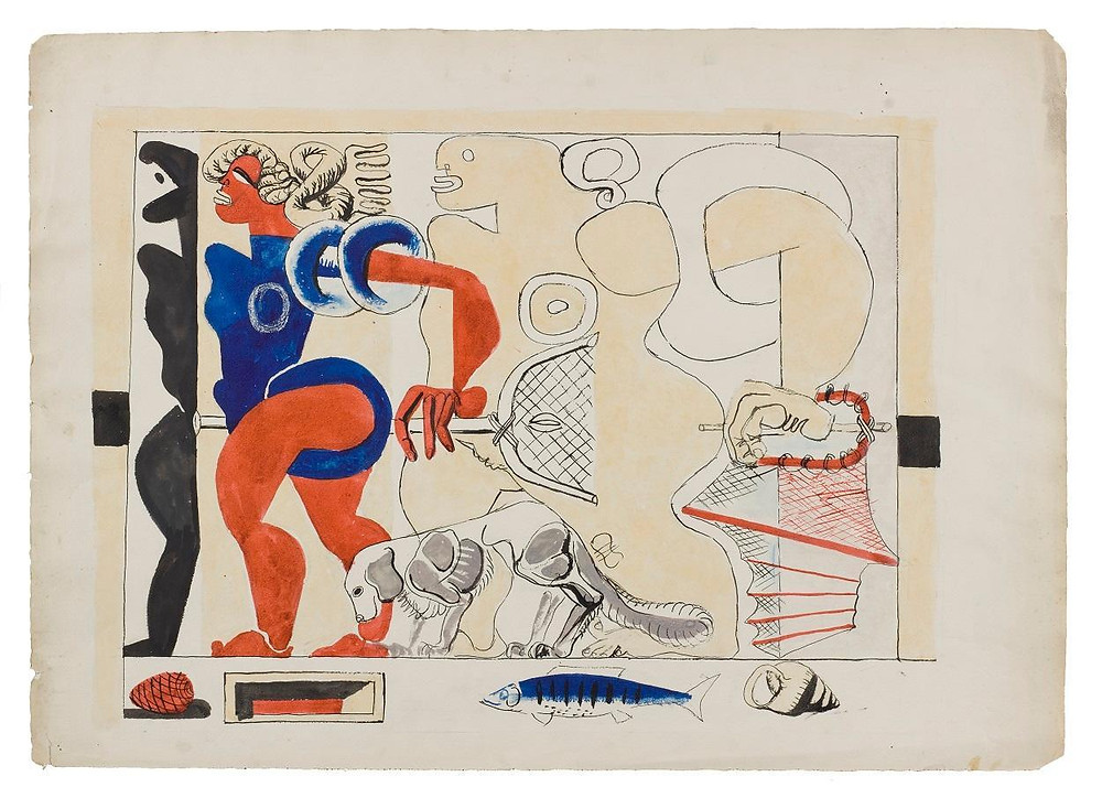 Mimarlık Akademisi | Mimar Le Corbusier Tabloları