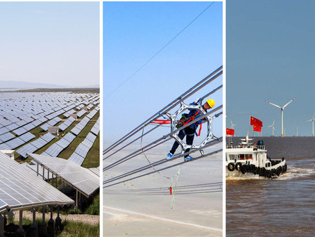 China's green supergrid goal expanding....