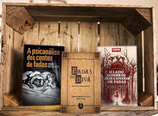 6 livros sobre contos de fadas