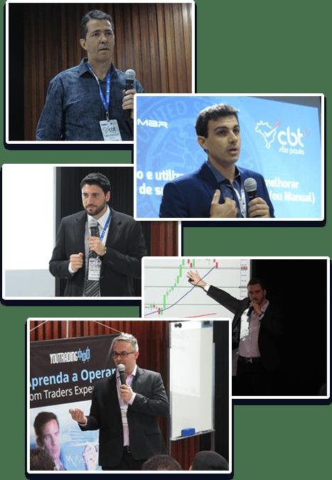 Grandes profssionais do Trading no Congresso Brasileiro de Traders