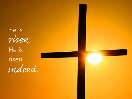 Ministers Monday Moment - He is Risen