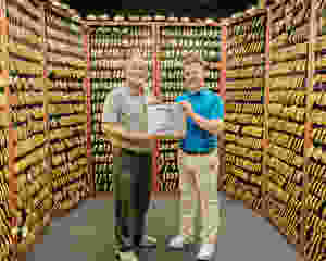 John Solheim Alistair Welsher PING Golf TGI Award Gold Putter Vault