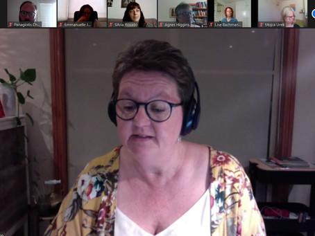 Pro. Rhonda Wilson is spoken about Transformation in Nursing: