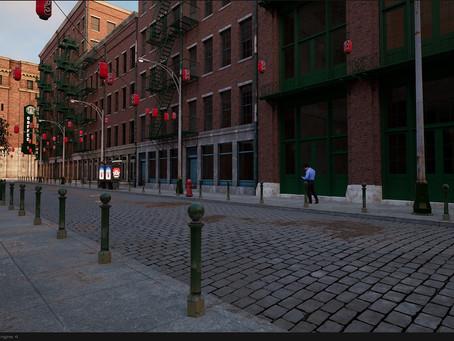 WIP: Third Street - Side buildings