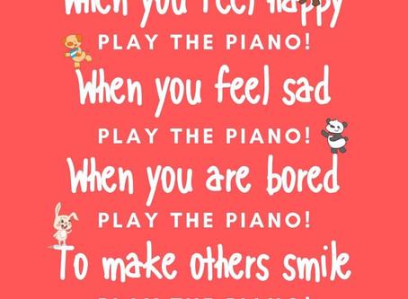 NO MUSIC?  NO PROBLEM!