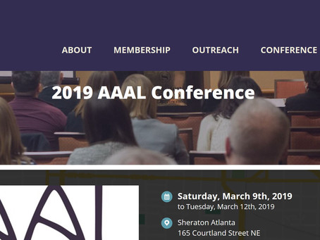 Get to know the AAAL Conference: Seven Fun Facts About the Conference