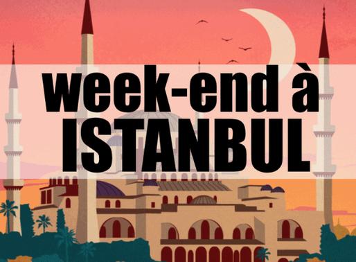 3 jours à Istanbul en Turquie