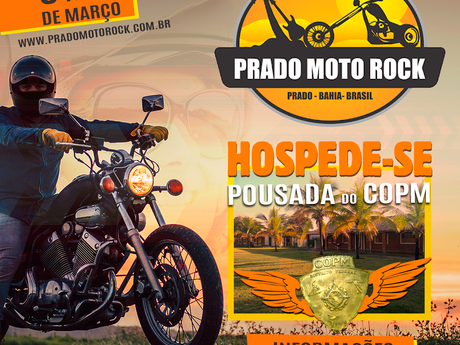 Aproveite as hospedagens do COPM e curta o Prado Moto Rock