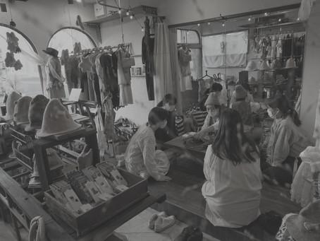 羊毛作家 yasuko watanabe展 2020 ご来場ありがとうございました