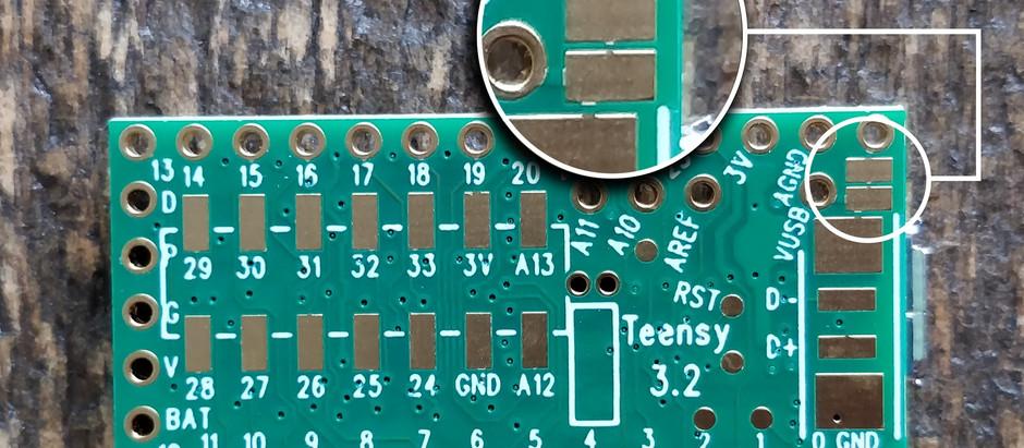 Working with Teensy 3.2 + Tee-Naps