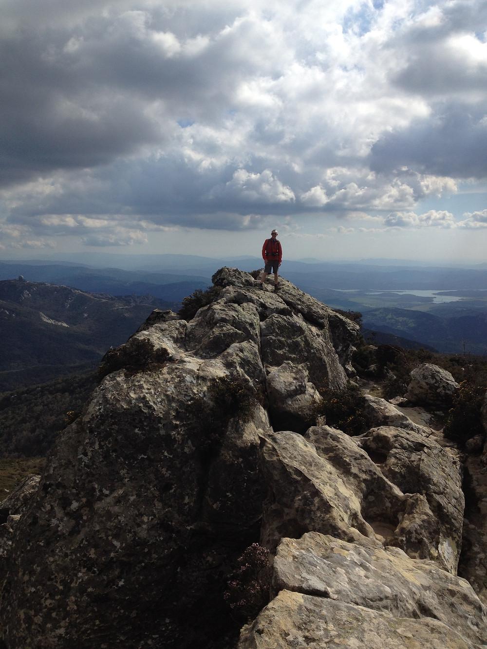 El Aljibe summit, Los Alcornocales Natural Park
