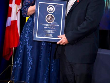 Borys Sydoruk Awarded The Taras Shevchenko Medal at the Ukrainian Canadian Congress XXVI Congress