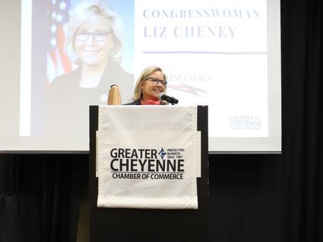 Congresswoman Cheney Applauds Military Heroes