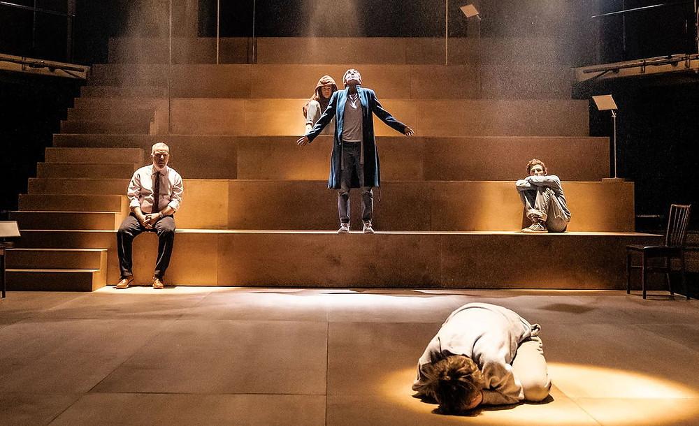 The cast of Light Falls. All pics: Manuel Harlan