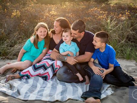Rexhame Beach Family Session