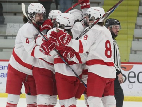 #4 Cornell Women's Hockey Ties #7 Clarkson, Defeats St. Lawrence This Weekend
