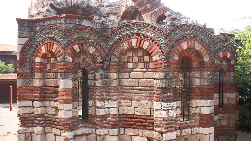 façade église Nessebar Bulgarie voyage
