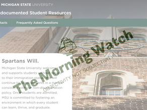 "UPDATED: MSU Launches Undocumented Students Website, Goals Include ""Reducing Apprehension"""
