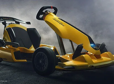 Xiaomi launches Ninebot GoKart Pro Lamborghini Edition for $ 1440 in China.