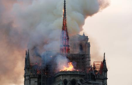 Sick Memes And Comments Circle The Internet Concerning The Burning Notre Dame