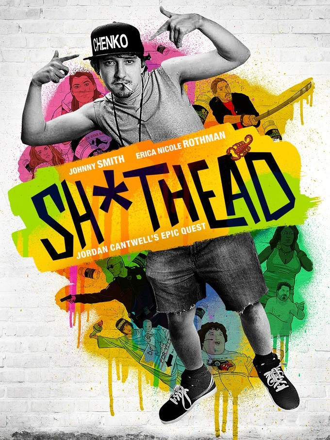 Poster for Sh*thead showing the protagonists.